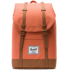 Herschel Retreat Backpack apricot brandy/saddle brown